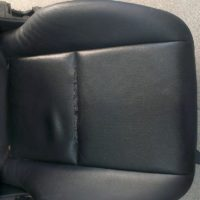 Перетяжка сидений кожей в СПб
