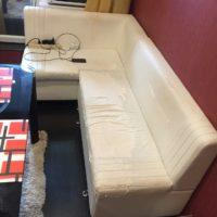 Перетяжка мебели кожей в СПб