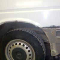 Полная окраска кузова микроавтобуса VW Transporter T4