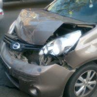 Ремонт и окраска кузова Nissan Note после ДТП